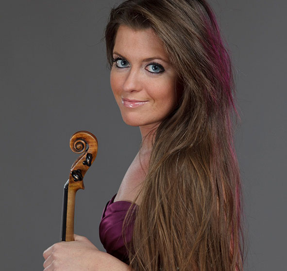 World-renowned violinist Anna Liisa Bezrodny