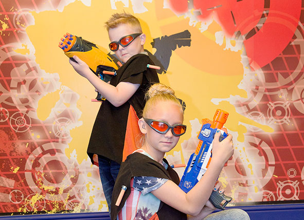 Nerf Zone at Gullivers Land