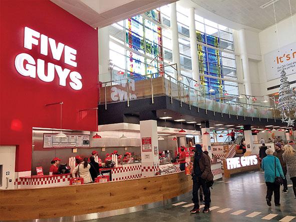 Five Guys opens at intu Milton Keynes