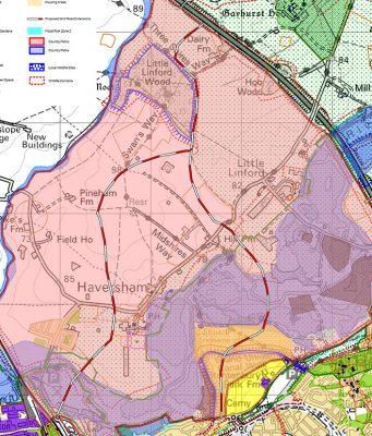 Proposed development in Milton Keynes