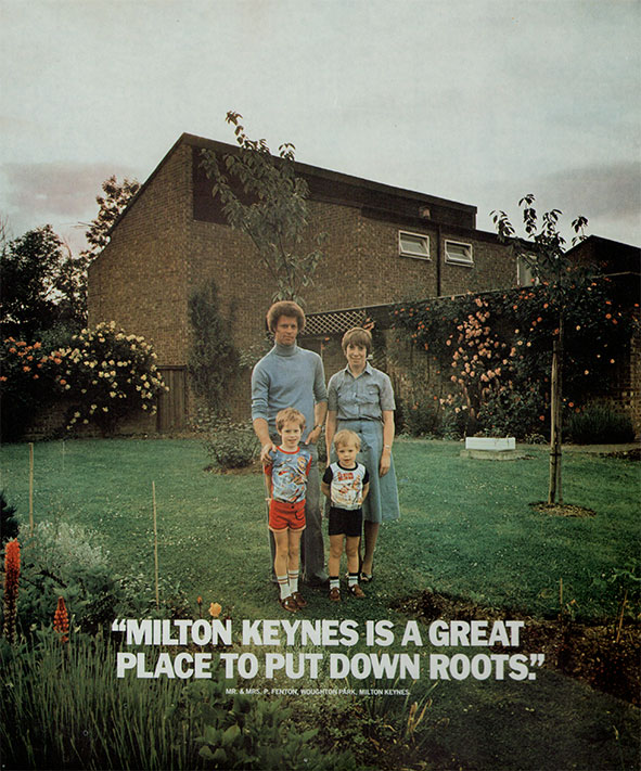 Milton keynes advertising poster