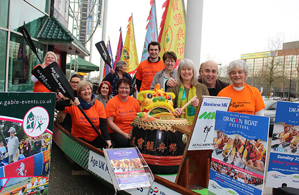Milton Keynes Dragon Boat Festival Launch 2017