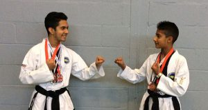 St Pauls Catholic School Taekwon-Do medal winners