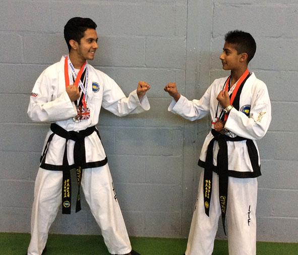 St Pauls Catholic School Taekwon-Do medal winners