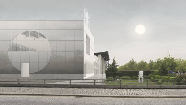 Artists impression of of MK Gallery expansion