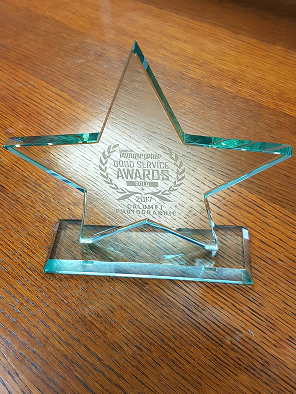 Calumet Photographic's Trophy