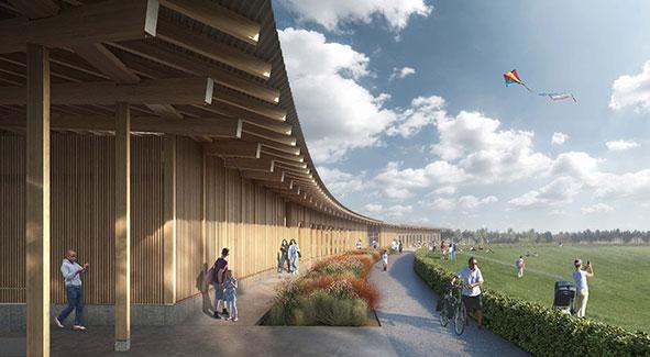 Events Plateau Pavillion planned for Campbell Park, Milton Keynes