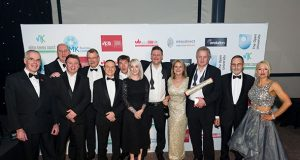 Winners of the MKBAA Business of the Year 2017, Marshall Amplification[1]