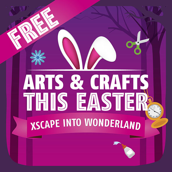 Easter activities at Xscape Milton Keynes