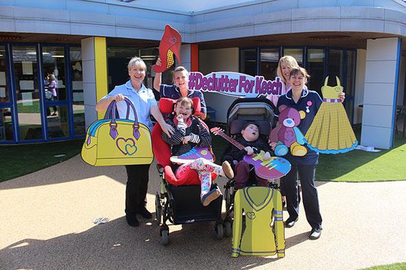 Keech Children's hospice launch declutter campaign