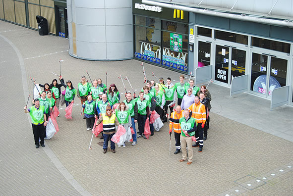 MKCCM And McDonalds continue fight against litter first Love Where You Live event of 2017