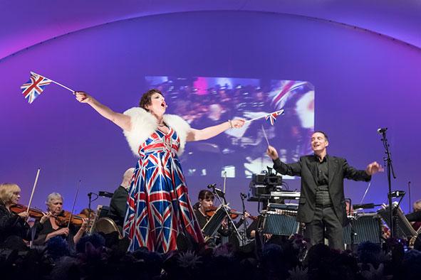 Proms in Campbell Park, Milton Keynes 2016