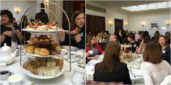 Mazars raise £1,400 for Action Medical Research at an afternoon tea