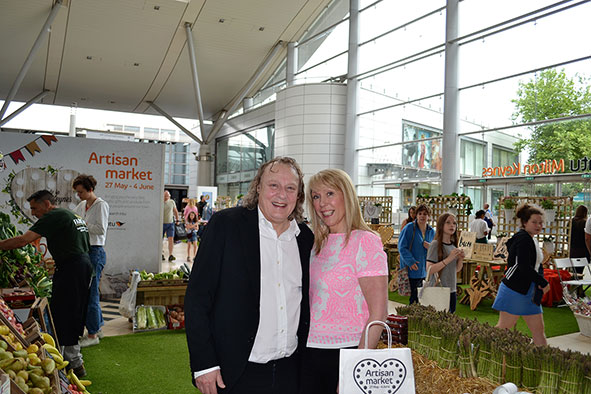 Intu's Artisan Market officially opened by Pete Winkleman