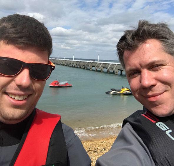 Chris Kealy & Richard Hird raise funds for MK Hospital neonatal Unit