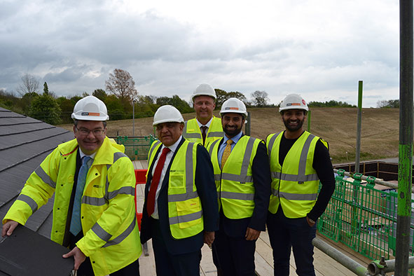 """Topping Out"" Ceremony with Iain Stewart MP"