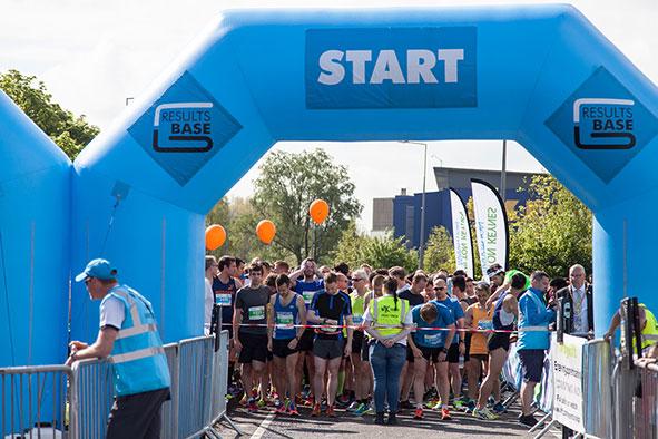 Mk Marathon Start Line 2017