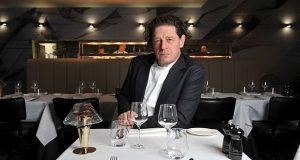 Marco Pierre White in restaurant