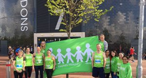Runners raise more than £6,000 in sponsorship rolls in to help Milton Keynes University Hospital patients.