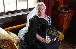 Queen Victoria at Milton Keynes Museum's Victorian weekend