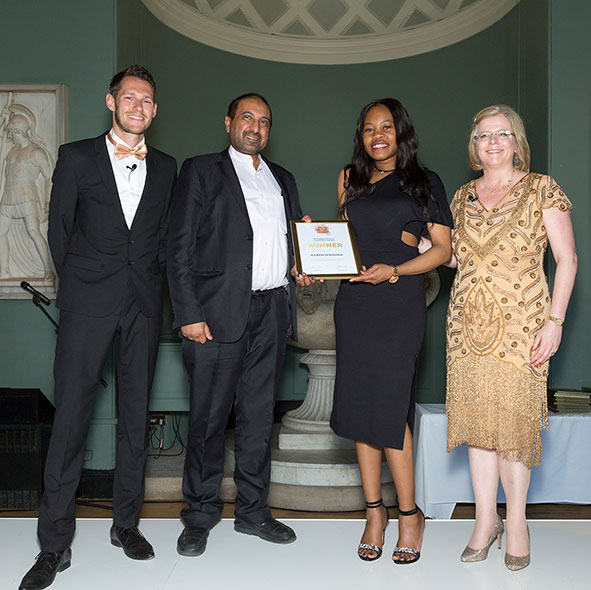 MK College student of the year awards 2017 at the Sculpture Gallery at Woburn Abbey