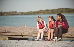 water safety day at willen lake milton keynes