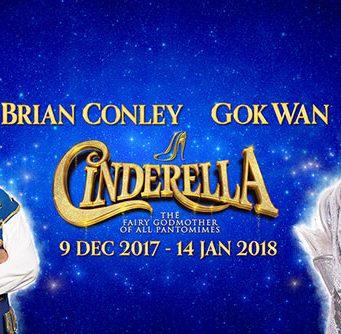 Gok Wan to JOIN BRIAN CONLEY IN Milton Keynes Theatre Pantomime, cinderella