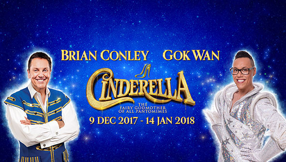 Gok Wan to JOIN BRIAN CONLEY IN Milton Keynes Theatre Pantomime, cinderella