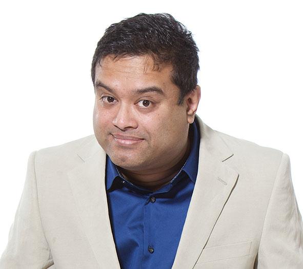 Paul Sinha will appear at the Milton Keynes Comedy Festival