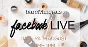 Facebook live with bare minerals and intu