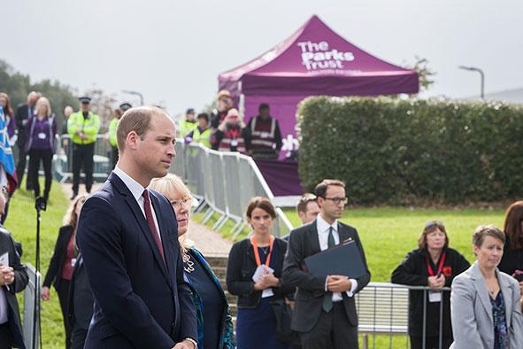 Duke of Cambridge in Milton keynes