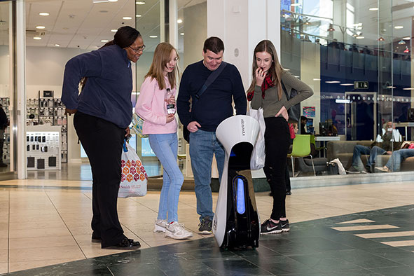 shop-bot comes to into Milton Keynes