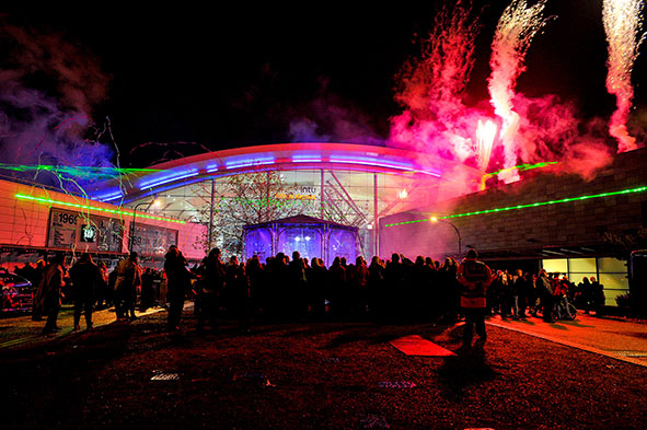 Milton Keynes Christmas light switch on