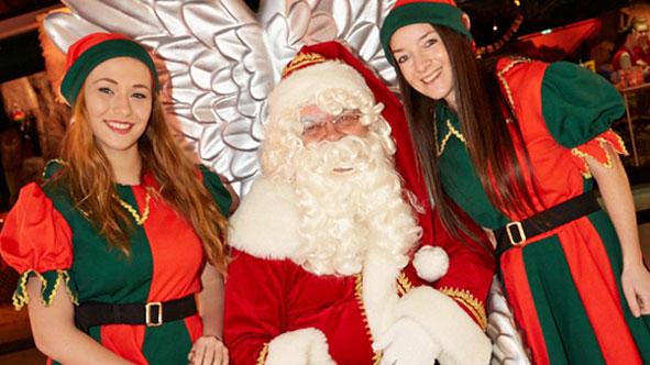 Visit Santa for free at Xscape MK