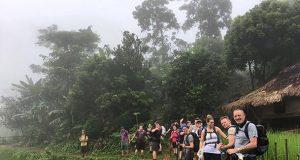 Trekkers in Vietnam