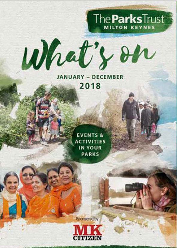 The Parks Trust's 2018 whats on guide