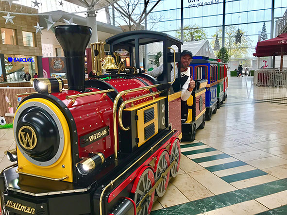 intu Milton Keynes' train to remain
