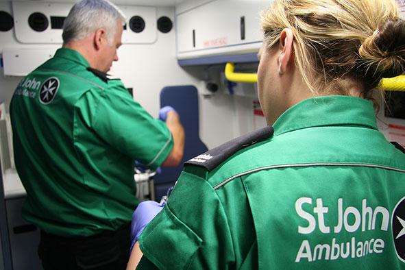 St Johns ambulance milton keynes