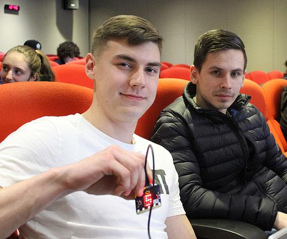 MK College students visit Microsoft HQ