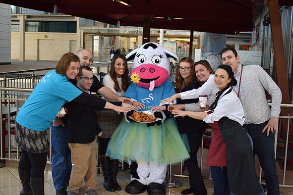 team from Pret a Manger Milton Keynes