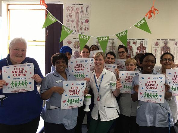 Staff from Milton Keynes University Hospital