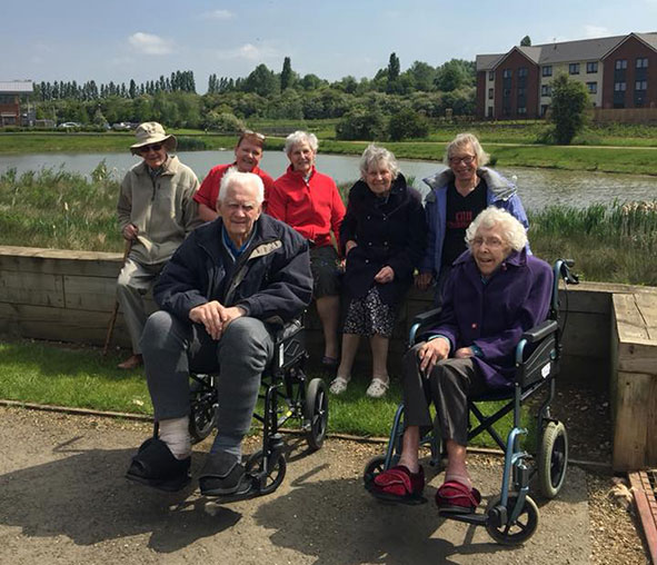 Lakeview Lodge residents