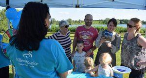Volunteering for Willen Hospice