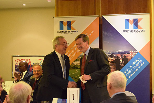 Dr Philip Smith MBE and Dominic Grieve QC MP
