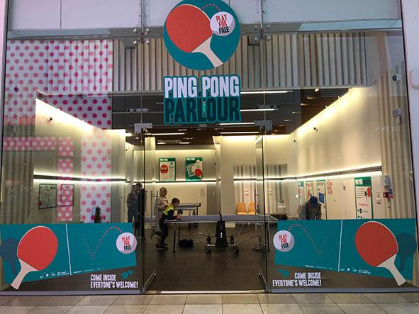 Ping pong parlour open at intu Milton Keynes