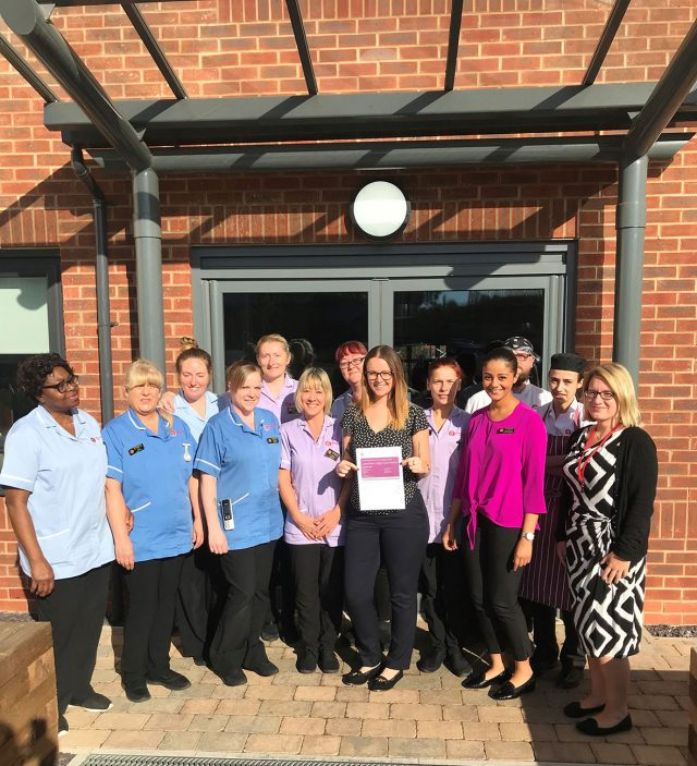 The Lakeview Lodge care home team