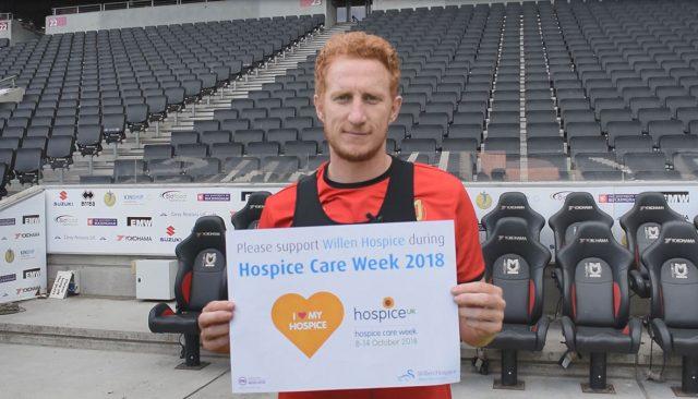 Dean Lewington supports Willen Hospice
