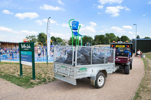 litter collected from Willen Lake