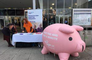 'Penny' the piggy bank in Milton Keynes