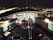 Christmas lights switch on Milton Keynes